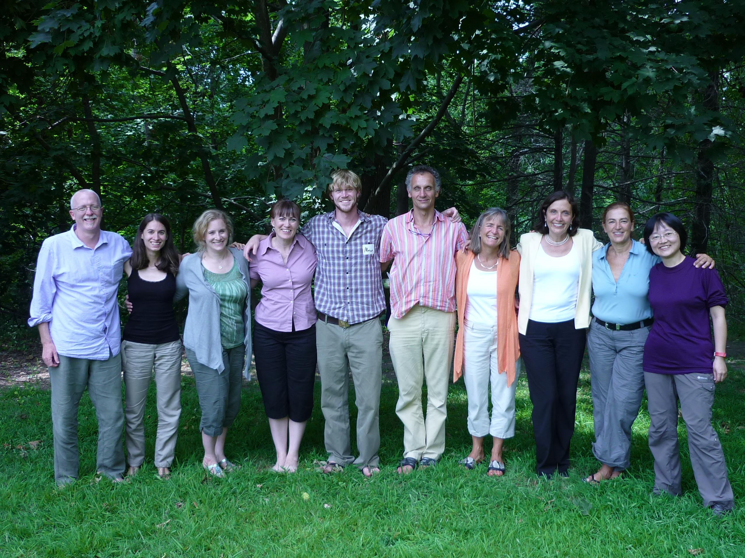 2010年一起上師資一階培訓  八周Practicum的同學們