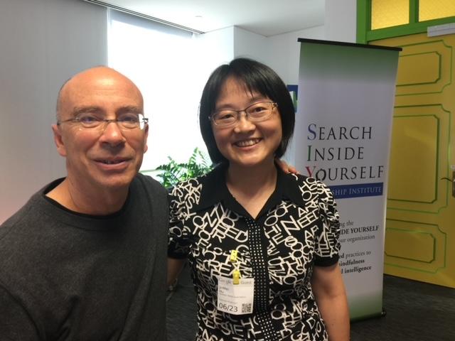 與Marc Lesser(google SIY課程創辦人之一)